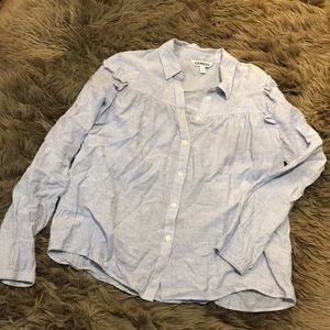 Express button down top